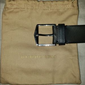 Burberry belt reversible 105-42